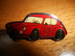A002 -- Pin's Coccinelle Rouge 69 - Volkswagen
