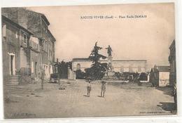 Aigues Vives - Place Emile Jamais -  CPA° - Aigues-Vives