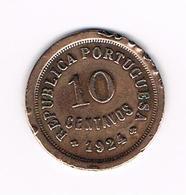 -&  PORTUGAL  10  CENTAVOS  1924 - Portugal