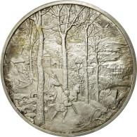 France, Médaille, Le Retour De La Chasse, Pieter Bruegel L'Ancien, SUP+, Argent - France