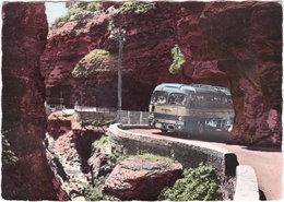 06. Gf. GORGES DU CIANS. Le Passage D'un Autocar De Grand Tourisme Dans La Petite Clue. 835 - France