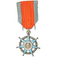 France, Mérite Social, Ministère Du Travail, Médaille, Non Circulé, Argent - Army & War