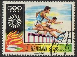 PIA - ARABIA DEL SUD-EST : RAS AL KHAIMA - 1971 : Giochi Olimpici Di Monaco - (Yv 63) - Arabia Saudita
