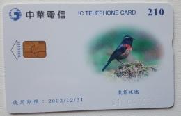 Taiwan Chip Card , Bird - Taiwan (Formosa)