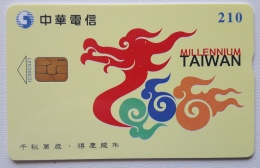 Taiwan Chip Card , Millenium - Taiwan (Formosa)
