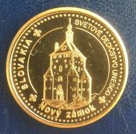 Slovakia, Banska Stiavnica, New Castle, Unesco, Souvenir Jeton - Tokens & Medals