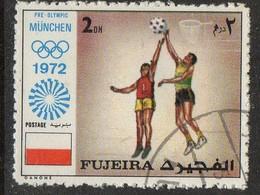 PIA- ARAB. SUD EST - FUJEIRA - 1972 - Giochi Olimpici Di Monaco  -(Yv  63) - Saudi Arabia