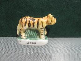 Fève Tigre Série Animaux Du Monde  Année 1998 - Fèves - Rare T Amimaux - Animals