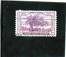B - 1935 Stati Uniti - Tercentenary Of Connecticut - Stati Uniti