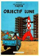 HERGE - Les Aventures De Tintin - Objectif Lune - Stripverhalen