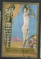 PIA- ARAB. SUD EST - FUJEIRA - 1971 - Nudo Di Donna - Quadro Di Renoir  -(Yv  57) - Arabia Saudita