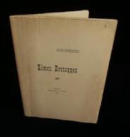 ( Poésie Bretagne Ancenis ) RIMES BRETONNES Par Paul FORGEOUX 1909 ENVOI - Poetry