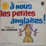 "Mort Shuman 33t. LP B.O. FILM "" à Nous Les Petites Anglaises"" - Soundtracks, Film Music"