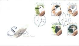 NORFOLK ISLAND - FDC - 9.8.2006 - SEABIRDS - Yv 900-904 - Lot 17557 - Ile Norfolk