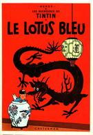 HERGE - Les Aventures De Tintin - Le Lotus Bleu - Stripverhalen