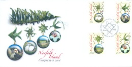 NORFOLK ISLAND - FDC - 3.11.2006 - CHRISTMAS - Yv 911-914 - Lot 17560 - Ile Norfolk