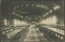 Festsaal, Königliche Hofbrauhaus, München, Bayern, C.1910 - WHD AK - Muenchen
