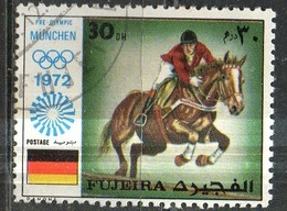 PIA- ARAB. SUD EST - FUJEIRA - 1972 - Giochi Olimpici Di Monaco  -(Yv  63) - Arabia Saudita