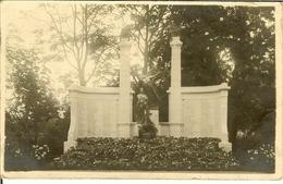 """CP Photo De BRUXELLES - FOREST """" Monument Aux Morts """" - Vorst - Forest"""