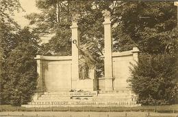 """CP De BRUXELLES - FOREST """" Monument Aux Morts 1914-1918 """" - Vorst - Forest"""