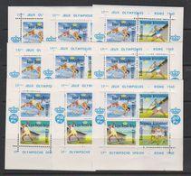 Belgie 1960 Erinnofilie E78 Olympische Spelen Rome Blokje 9x ** Mnh (39625) - Erinnophilie