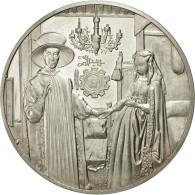 France, Médaille, Portrait D'Arnolfini, Jan Eyck, SUP+, Argent - France