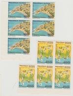 Côte D'Ivoire Ivory Coast 1992 NON DENTELES IMPERF Sites Touristiques Touristic Places RARE ! - Côte D'Ivoire (1960-...)