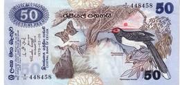 Sri Lanka P.87  50  Rupees 1977 Xf - Sri Lanka