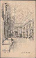The Governors Hall, Royal Hospital Of St Bartholomew, London, 1929 - Postcard - London