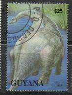 PIA - GUYANA :  : Animali Preistorici - Guiana (1966-...)