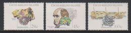 Cocos Keeling Islands 1981 Charles Darwin 3v ** Mnh (39627) - Cocoseilanden