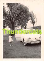 ANCIENNE PHOTO VOITURE AUTOMOBILE AUTO CAR FOTO  RENAULT DAUPHIN   11,5 CM  X 8 CM - Automobile