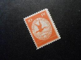 D.R. L  - 10Pf*MLH - Flugpost - 1912 - Mi**30,00 € - Deutschland