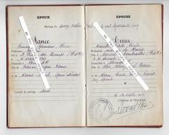 63 - SAINT PRIEST DES CHAMPS  - Livret De Famille - 1945 - Familles RANCE Et TIXIER - Historical Documents