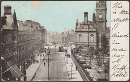 Pinstone Street, Sheffield, Yorkshire, 1905 - Postcard - Sheffield