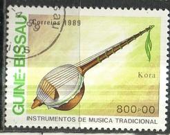 PIA  - 1989 - GUINEA  BISSAU : Strumenti Musicali Tradizionali - Guinea-Bissau