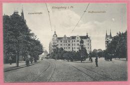 Russia - Russie - Russland - KÖNIGSBERG - KALININGRAD - Kaiserstrasse - Hoffmannstrasse - Feldpost - Ostpreussen