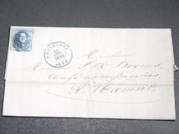 BELGIQUE - Lettre De Bruxelles En 1854 Pour Namur - L 20188 - 1851-1857 Medaglioni (6/8)
