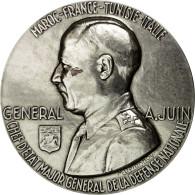 France, Médaille, Seconde Guerre Mondiale, Général Juin, Delannoy, SPL+ - France