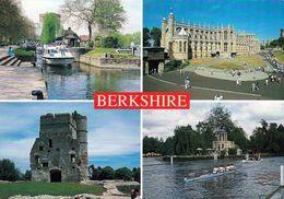 1 AK England * Ansichten Der Grafschaft Berkshire U.a. Schloss Windsor, Die Burgruine Donnington Castle Bei Newbury * - Windsor Castle