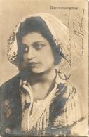 COSTUME NAPOLETANO - FOTOCARTOLINA F. PICCOLO - VIAGGIATA 1905 Da COLLEGIO MILITARE ROMA - (rif. H82) - Napoli