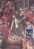 Carte-Maximum BELGIQUE N° Yvert 4352 (NATIVITE) Obl Sp Ill 1er Jour - Maximum Cards