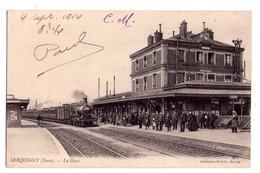 2097 - Serquigny ( 27 ) - La Gare - Coll. Walter à Bernay - - Serquigny