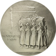 France, Médaille, Première Guerre Mondiale, Le Soldat Inconnu, 11 Nov. 1920 - France
