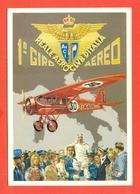 1° GIRO AEREO -REALE AERO CLUB D'ITALIA-PILOTA PARIDE SACCHI SU BREDA 15S -  AEREI - - Aviatori