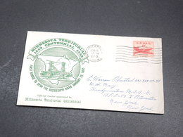 ETATS UNIS - Enveloppe Du Pont Sur Le Mississipi - Minneapolis 1950 - L 20195 - Event Covers