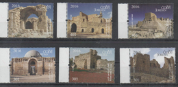 JORDAN ,2016, MNH, CASTLES, FORTS, ANCIENT CASTLES OF JORDAN, 6v - Castles