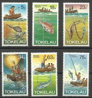 Tokelau - 1982 Fishing MNH **   SG 85-90 - Tokelau