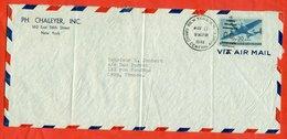 United States 1946. Aircraft. Envelope Passed The Mail. Par Avion. - Etats-Unis