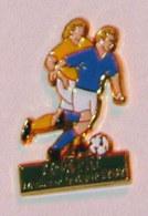Pin's JEAN PIERRE PAPIN, MEILLEUR BUTEUR 1989 - Football